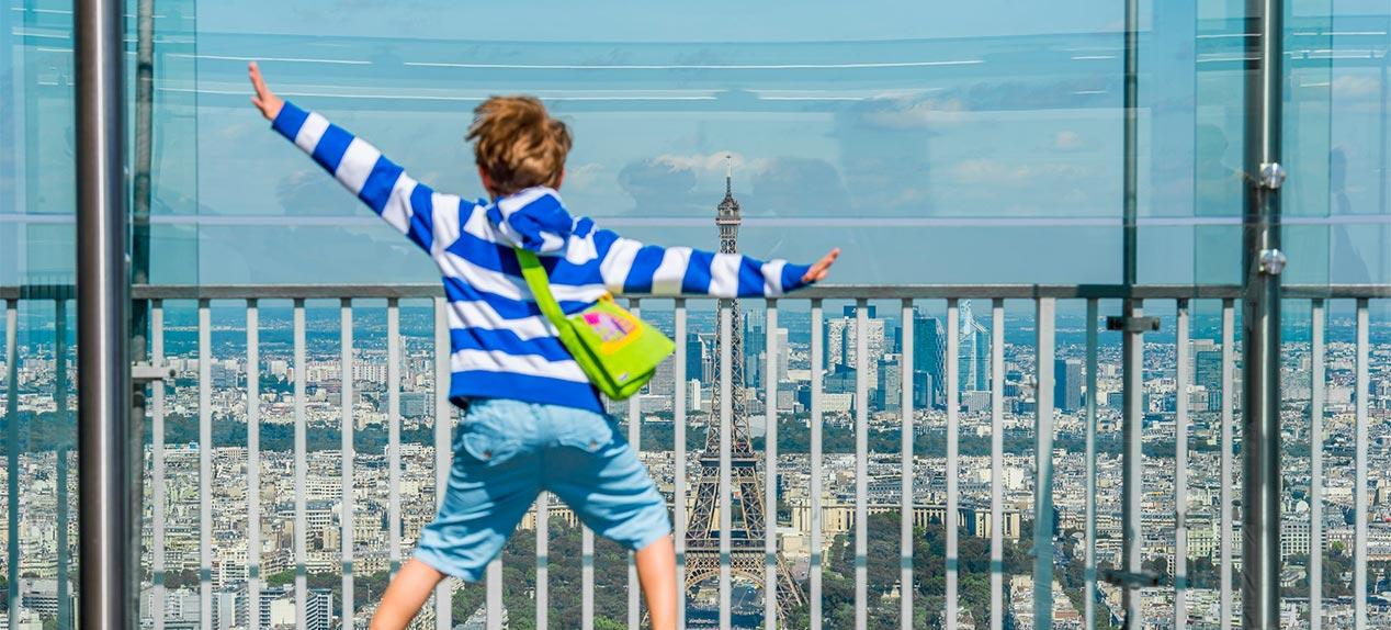 蒙帕纳斯大厦观景台学生团旅游