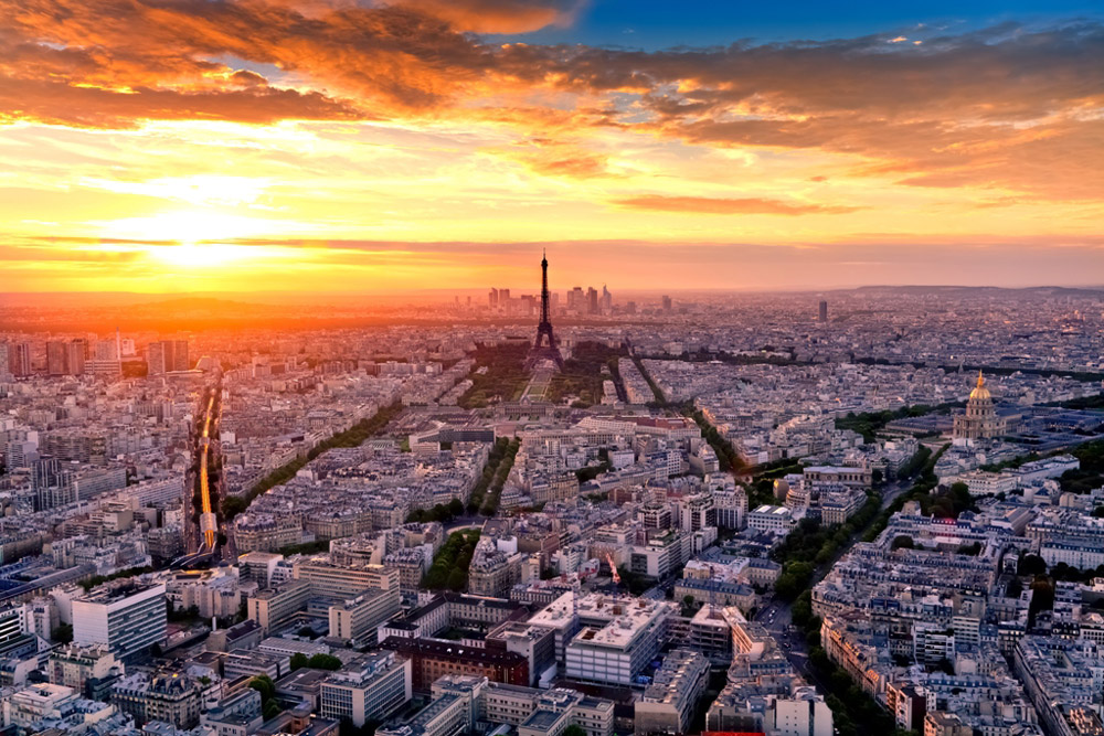 巴黎最美地区