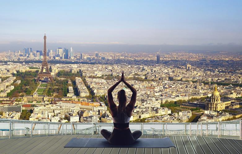 visuel yoga femme seulement